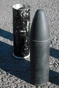 The rubber bullet